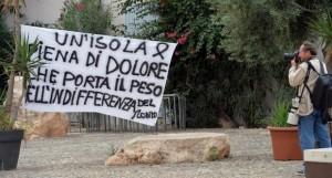 Lampedusa, parole al vento